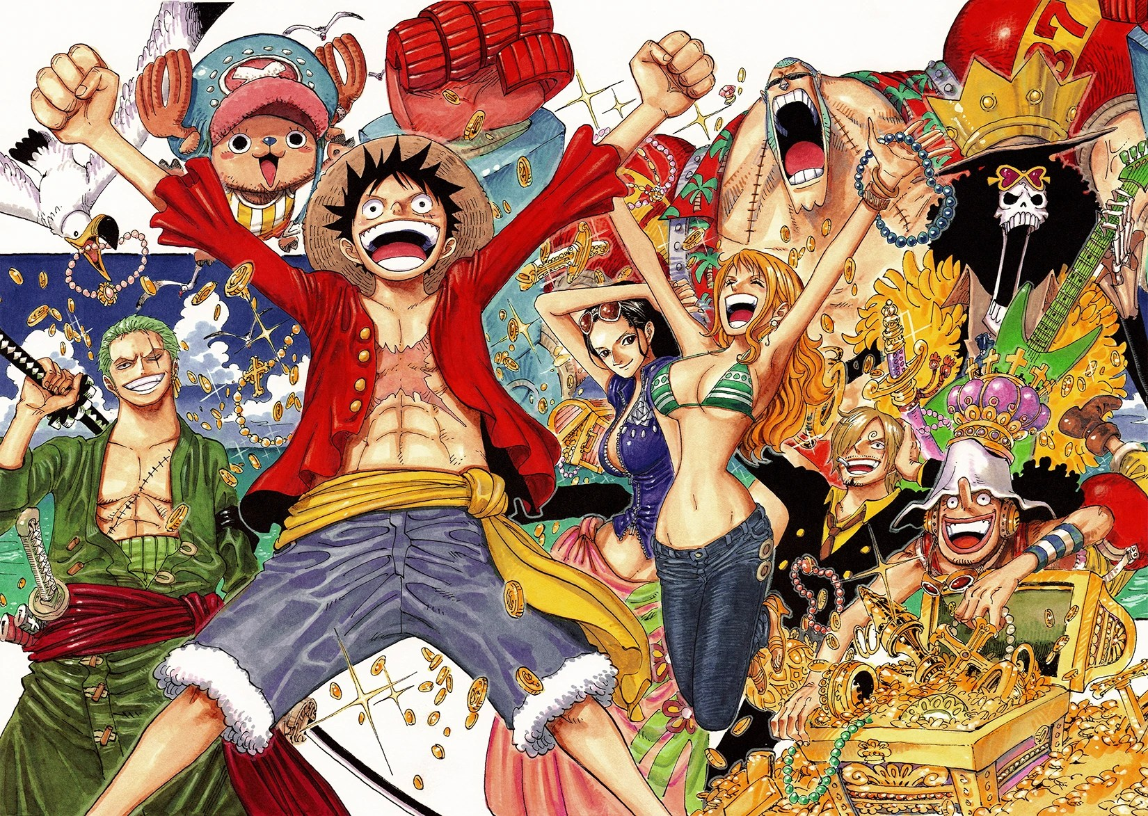 Chapter 598   One Piece Wiki   FANDOM powered by Wikia Chapter 598