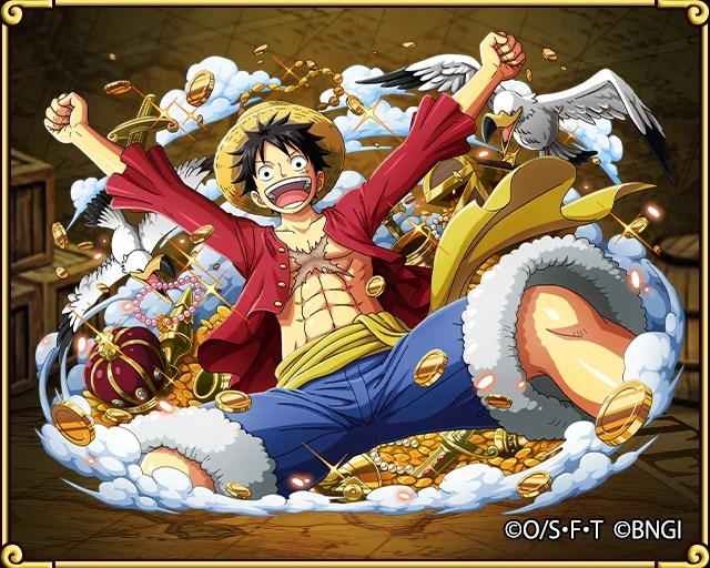 Monkey D  Luffy Gum Gum Elephant Gun   One Piece Treasure Cruise     C1387