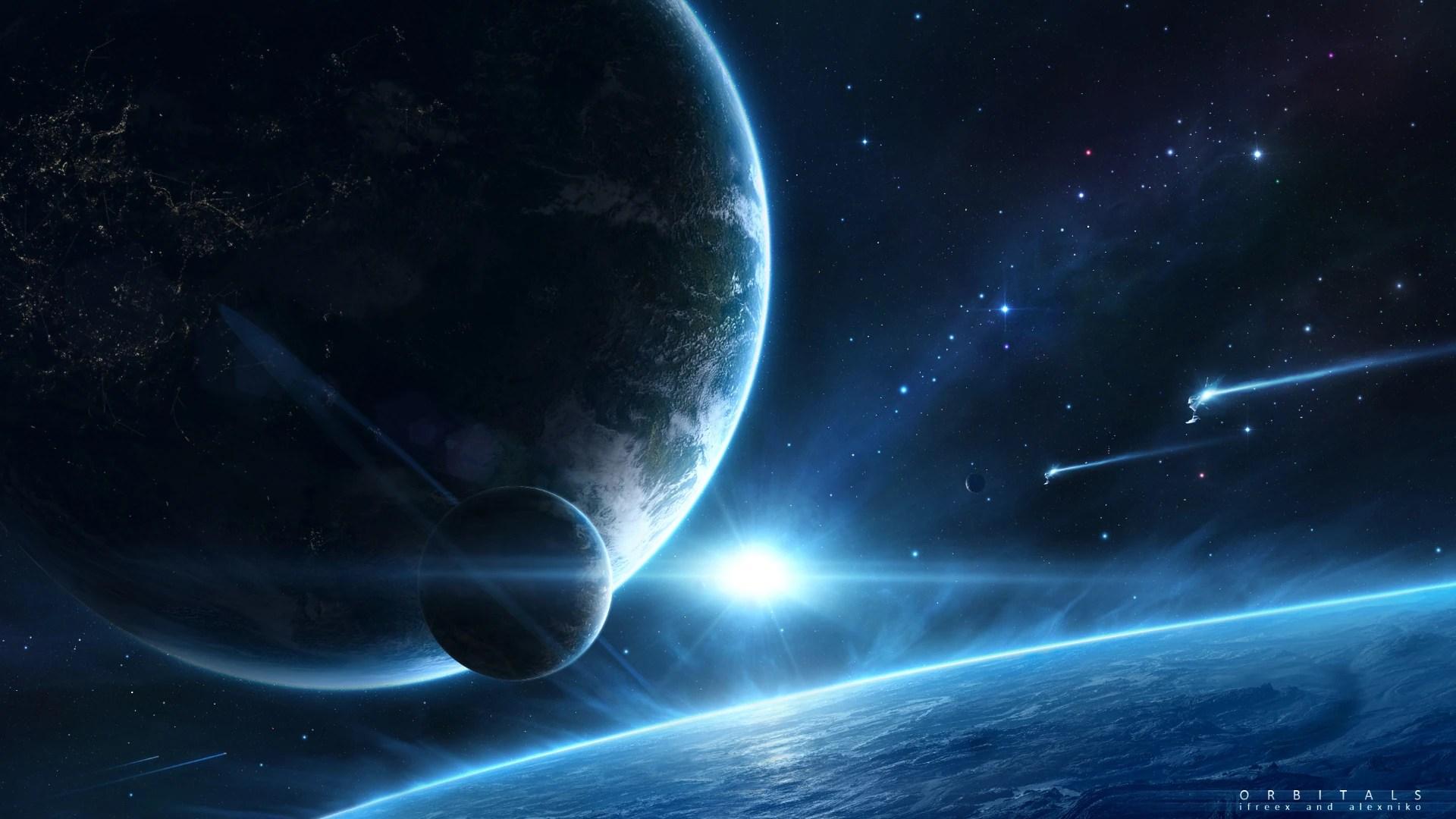 Image - Space Fantasy HD Wallpaper-34 jpg Orbitals 1920x1080.jpg   Sci Fi Mini Builders Wiki ...