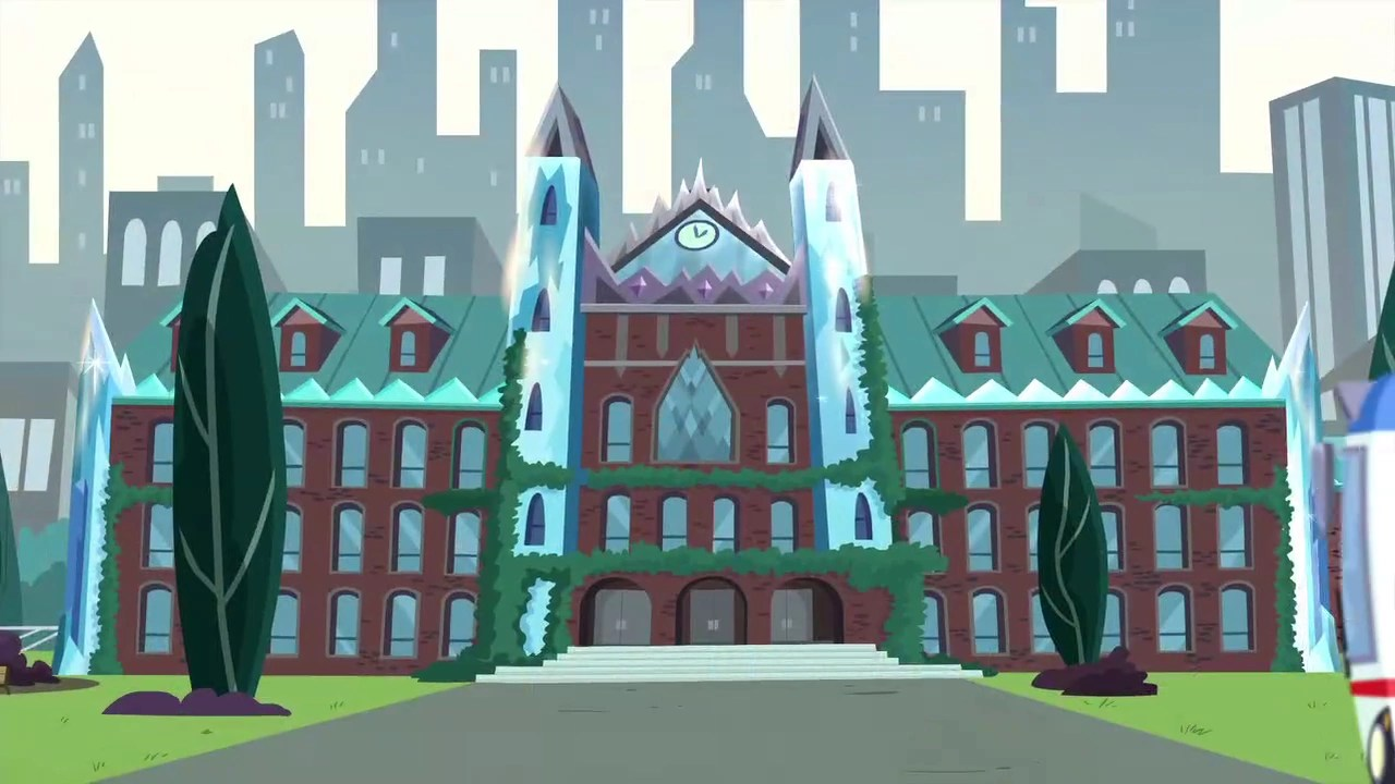 Image - Crystal Prep Academy exterior front view EG3.png | My Little Pony Friendship is Magic ...