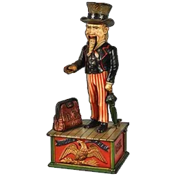 Uncle Sam Mechanical Bank | Pawn Stars: The Game Wiki | FANDOM powered by Wikia