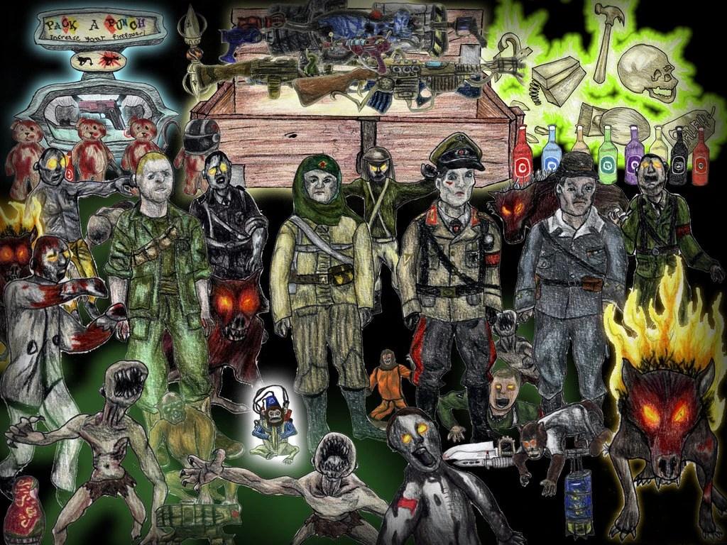 Image - Personal XWilliam45x Zombie Wallpaper.jpg   Call of Duty Wiki   FANDOM powered by Wikia