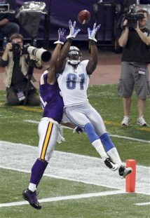 Calvin Johnson, Chris Cook