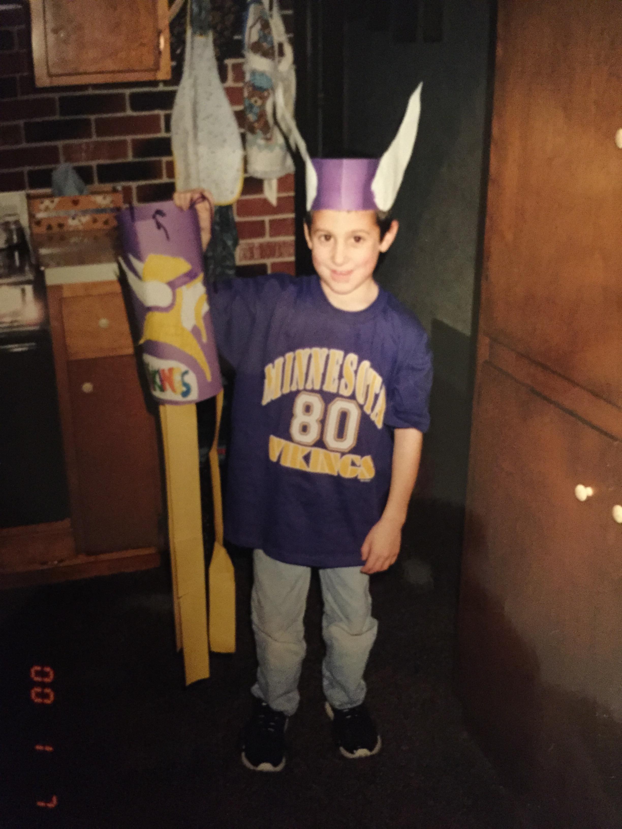 Minnesota Vikings Fantasy Fan Trophy