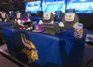 2014 NFL Draft Vikings Table