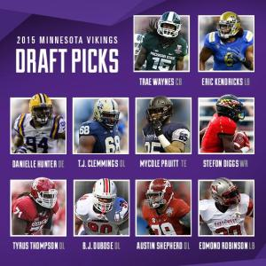 Vikings Draft Picks 2015