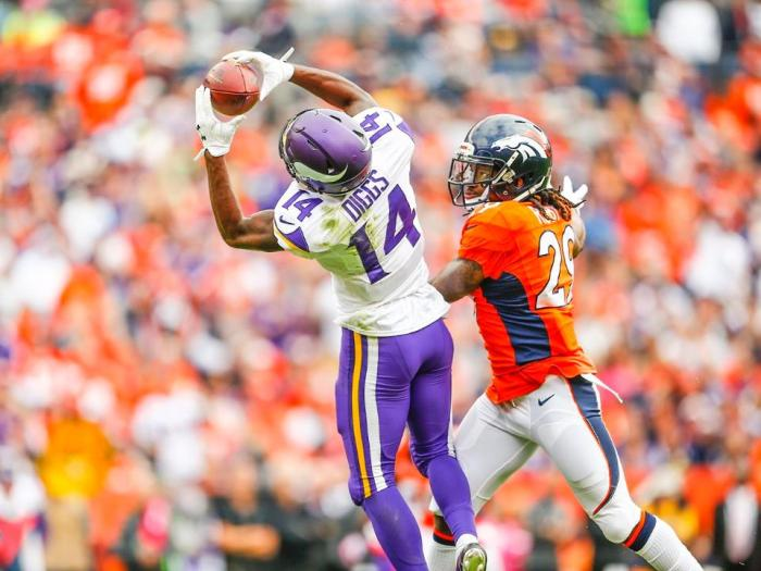 Stefon Diggs a #1 receiver