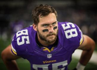 Minnesota Vikings tight end Rhett Ellison is a key contributor