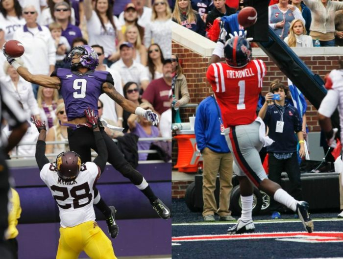 Laquon Treadwell or Josh Doctson
