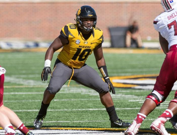 linebacker Kentrell Brothers out of Missouri.