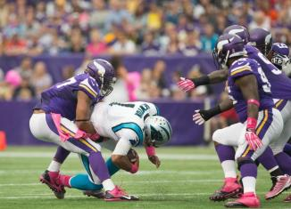 Vikings versus Panthers