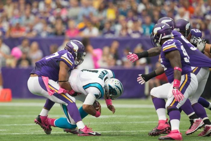 Vikings versus Panthers