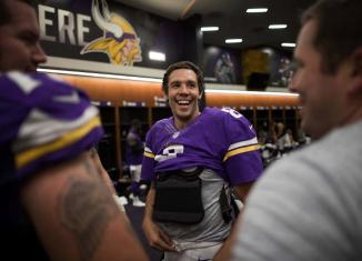 Sam Bradford's first interception