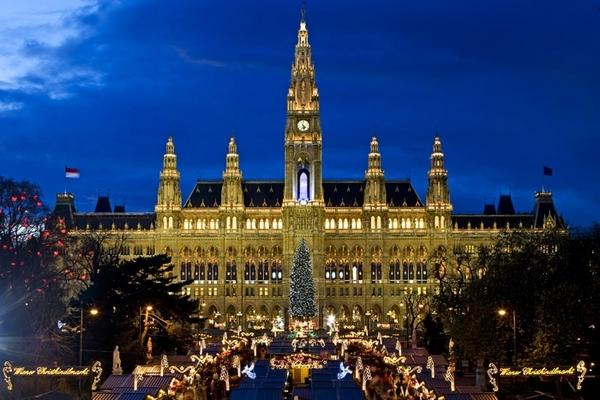 Karácsonyi vásár Bécs
