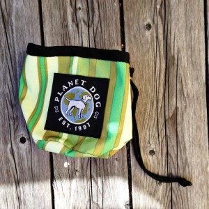 Planet Dog Snack Sack Forest Green