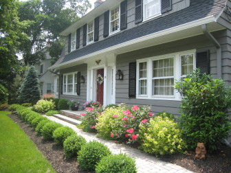 A new walkway can improve your home's curb appeal. Credit: Cathy Knapp