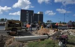 CORAABO construye un mini sistema de acueducto para nuevo hotel Hampton en la Autopista Las Américas
