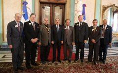 Presidente Danilo Medina recibe a directivos Asociación Internacional Club de Leones