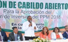Alcaldía SDN Realiza Cabildo Abierto para aprobación Presupuesto Participativo Municipal