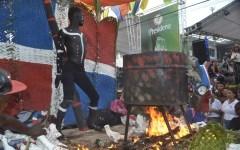 Villa Mella celebra fiesta de carnaval en la Jacobo Majluta