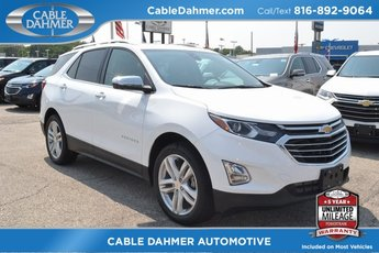 Cable Dahmer Buick GMC Dealer in Kansas City  MO 2019 Summit White Chevy Equinox Premier Automatic AWD 4 Door