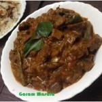Beef Masala recipe, beef semi gravy recipe, spicy beef curry recipe, kerala recipe, nadan recipe