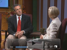 Me with Johnnette Benkovic on EWTN's Women of Grace television program
