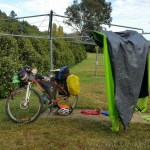 Drying the cheap tent