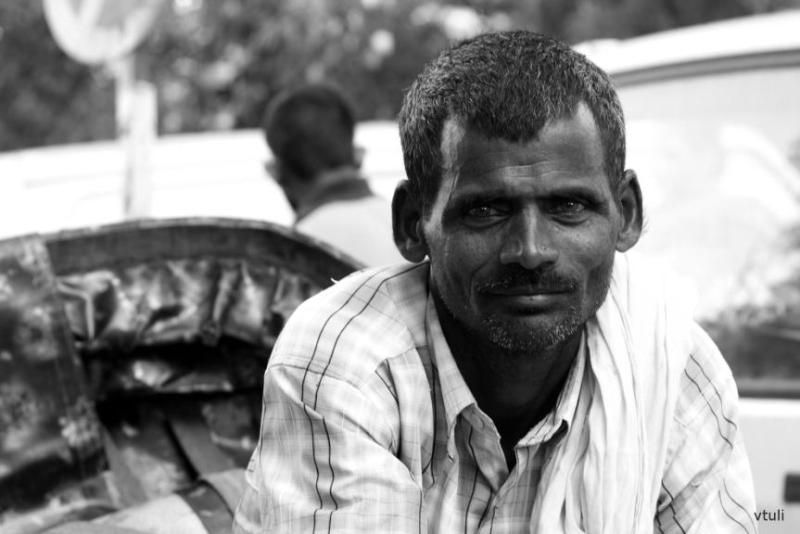 Rickshaw Puller - Scott Kelby Photowalk