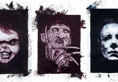 Художница из Канады создает необычные картины, рисуя их вином.