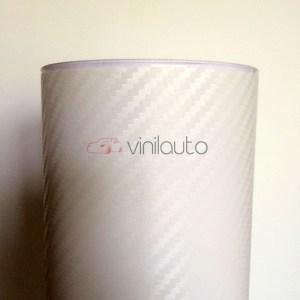 Белый карбон 3D CarLux+