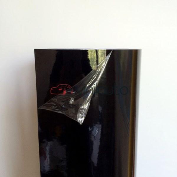 Черная глянцевая пленка, эффект панорамной крыши 3-х слойная