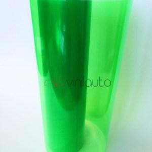 Светло-зеленая пленка для фар