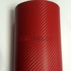 Красный карбон 3D, 1.52м.