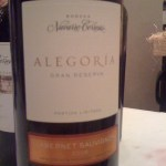 Navarro Correas Alegora, Gran Reserva, Cabernet Sauvignon.
