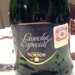 Cosecha Especial Norton, Espumoso método tradicional o champenoise.