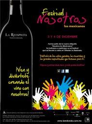 La Redonda lanzará un vino muy democrático en su festival 'Nosotros los Mexicanos'
