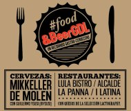 Lpulos al ataque! #Food&amp;BeerGDL comienza en Febrero