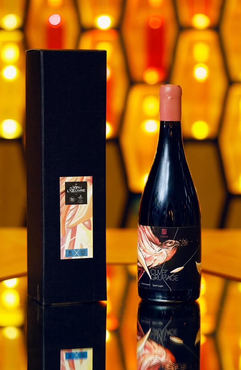 Coffret bouteille Du vin à l'oeuvre