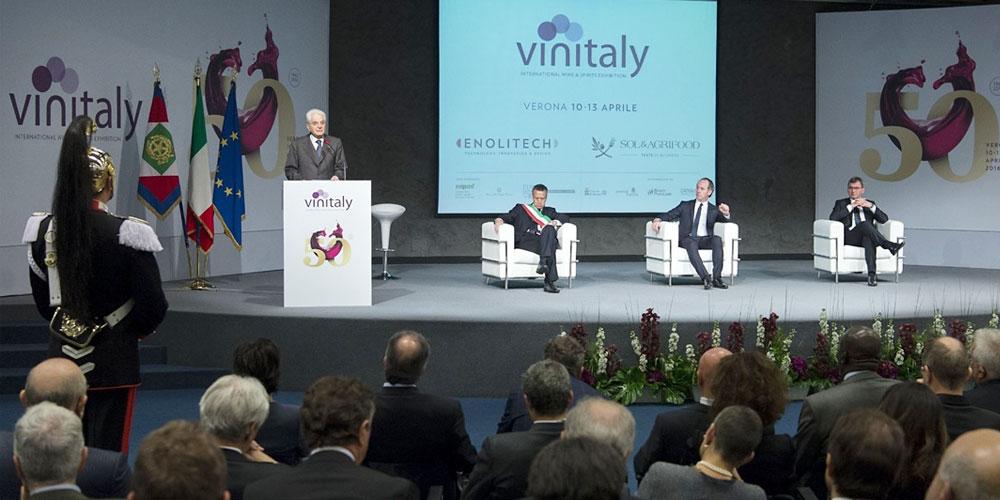 Sergio Mattarella - Vinitaly