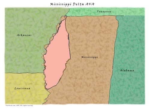 The Mississippi Delta AVA