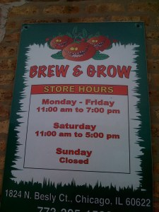 Brew and Grow