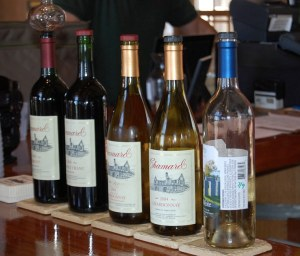 Chamard Vineyards, July 2009 Tasting Menu / Photo: Marguerite Barrett