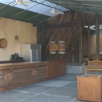 outdoor tasting room