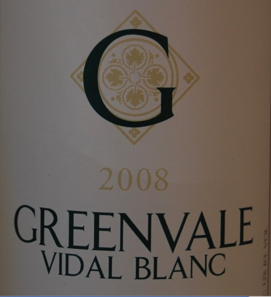2008 Greenvale Vidal Blanc / Photo: Marguerite Barrett