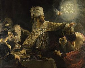 Rembrandt's Belsazar's Feast