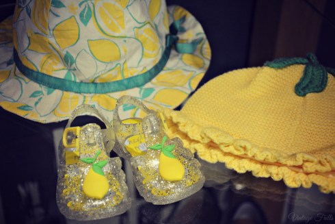 Next Summer 15 Press Day Baby Jelly Shoes and Lemon Hat