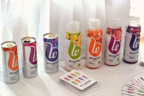 Bloggers London Fashion Week Berrywhite Organic Drinks