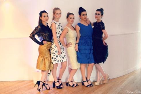 Bloggers London fashion Week Models