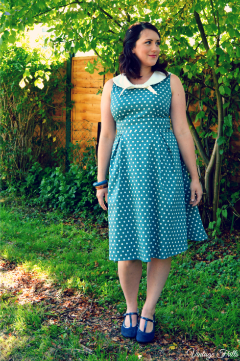 Dolly and Dotty Polka Dot Sally Dress Review Vintage Frills